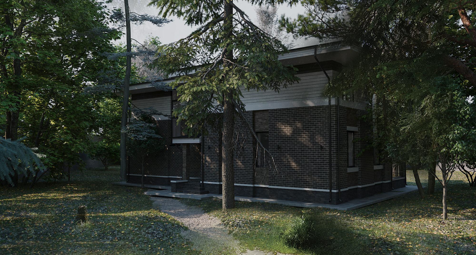 Экстерьер загородного дома - Project4Home
