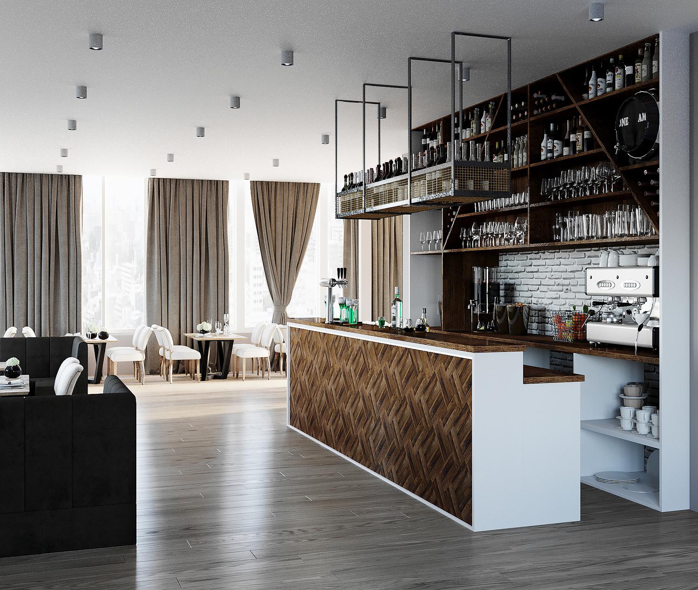 Дизайн-проект ресторана в Китае - Project4Home