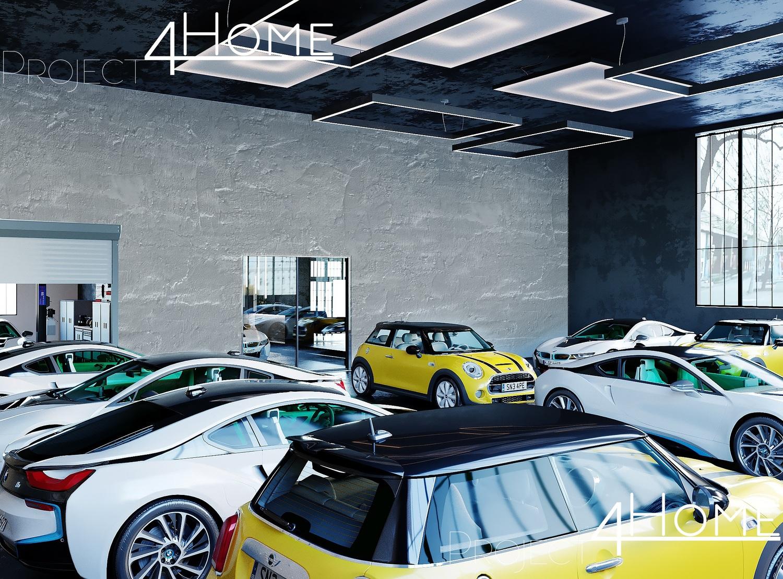 Проект автосалона в Германии - Project4Home