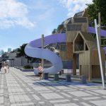 Экстерьер набережной санатория в Республике Крым, г. Ялта - Project4Home