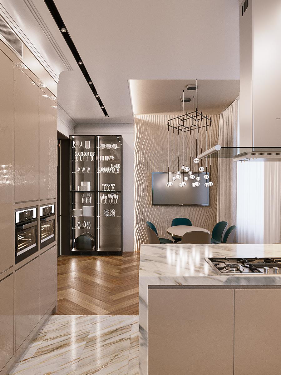Дизайн-проект кухни - Project4Home